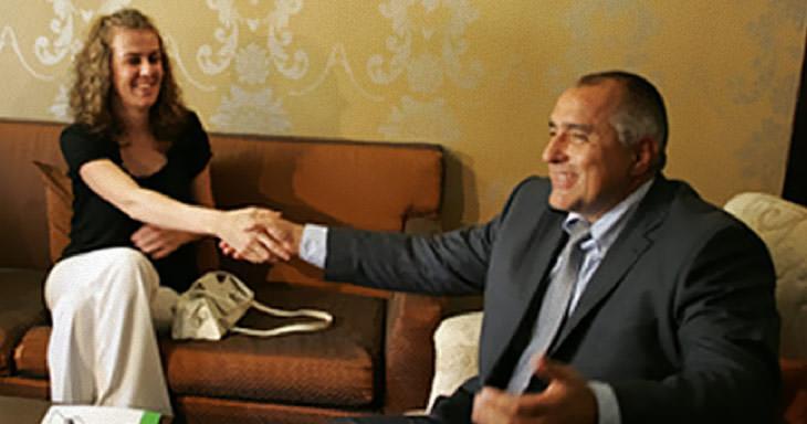 Спаска Митрова и Бойко Борисов