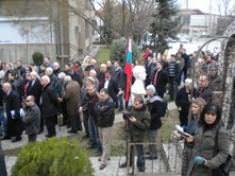 Откриване паметника на Ванче Михайлов във Велес
