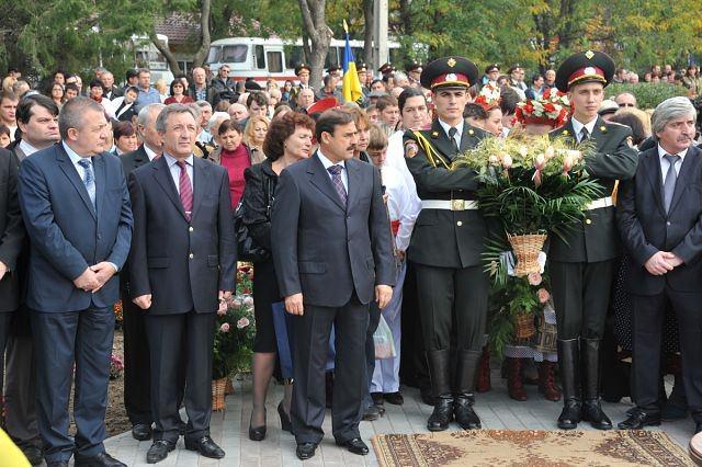 Тържество за откриване на паметника в Болград
