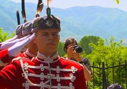 гвардейци в Струмица