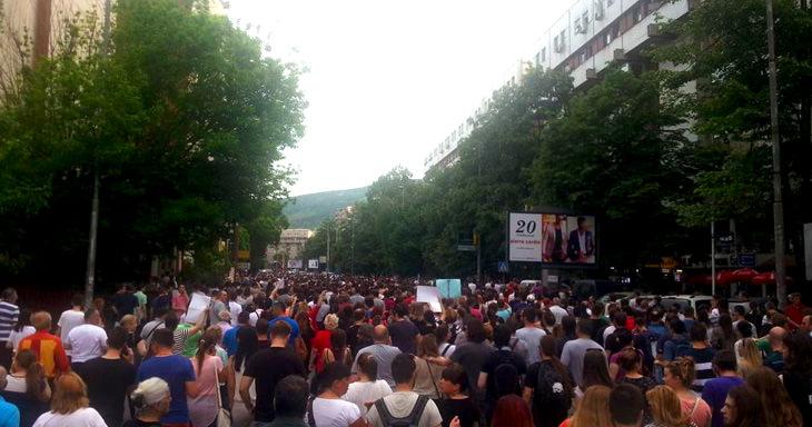 Протести в Македония