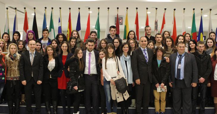 Българчета посетиха европарламента