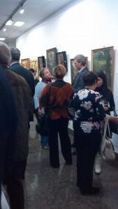 Коктейл при откриването на изложбата