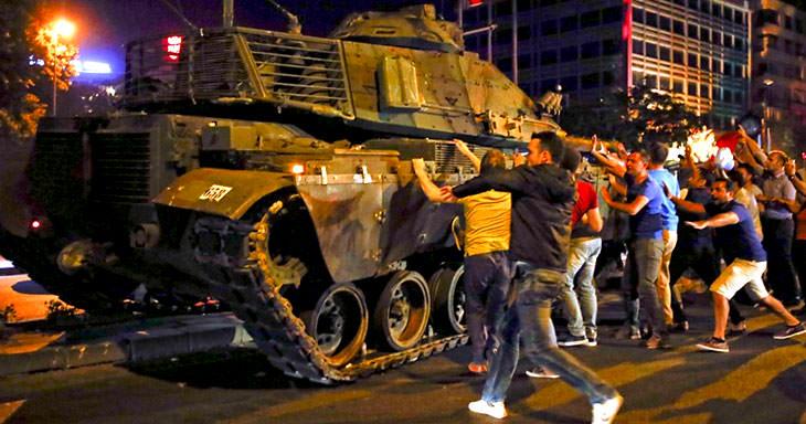 опит за преврат в Турция