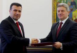 Зоран Заев и Георге Иванов